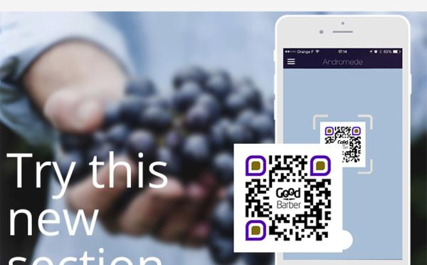 Lecteur de QR code - Section native de GoodBarber