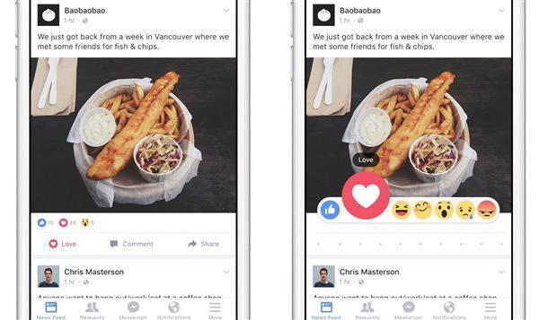 """Nouvelles """"Réactions"""" Facebook: on en pense quoi?"""