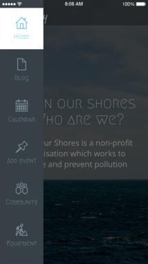 Menu and secondary navigation