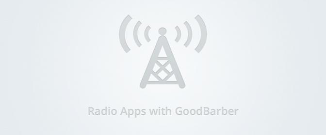 GoodBarber for radio stations