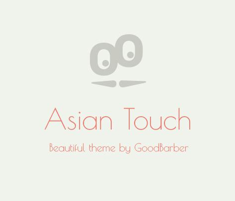 New Theme : Asian Touch