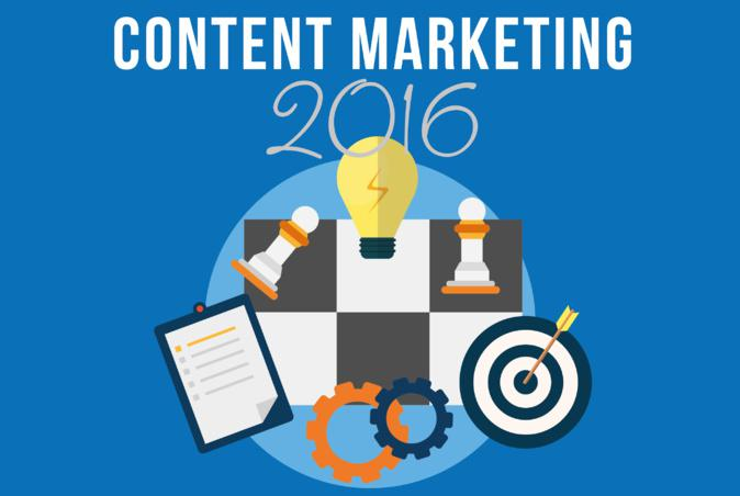 Content Marketing Trends for 2016 (Infographic)