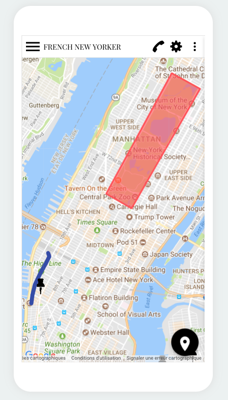 How the Map section made my life in New York easier