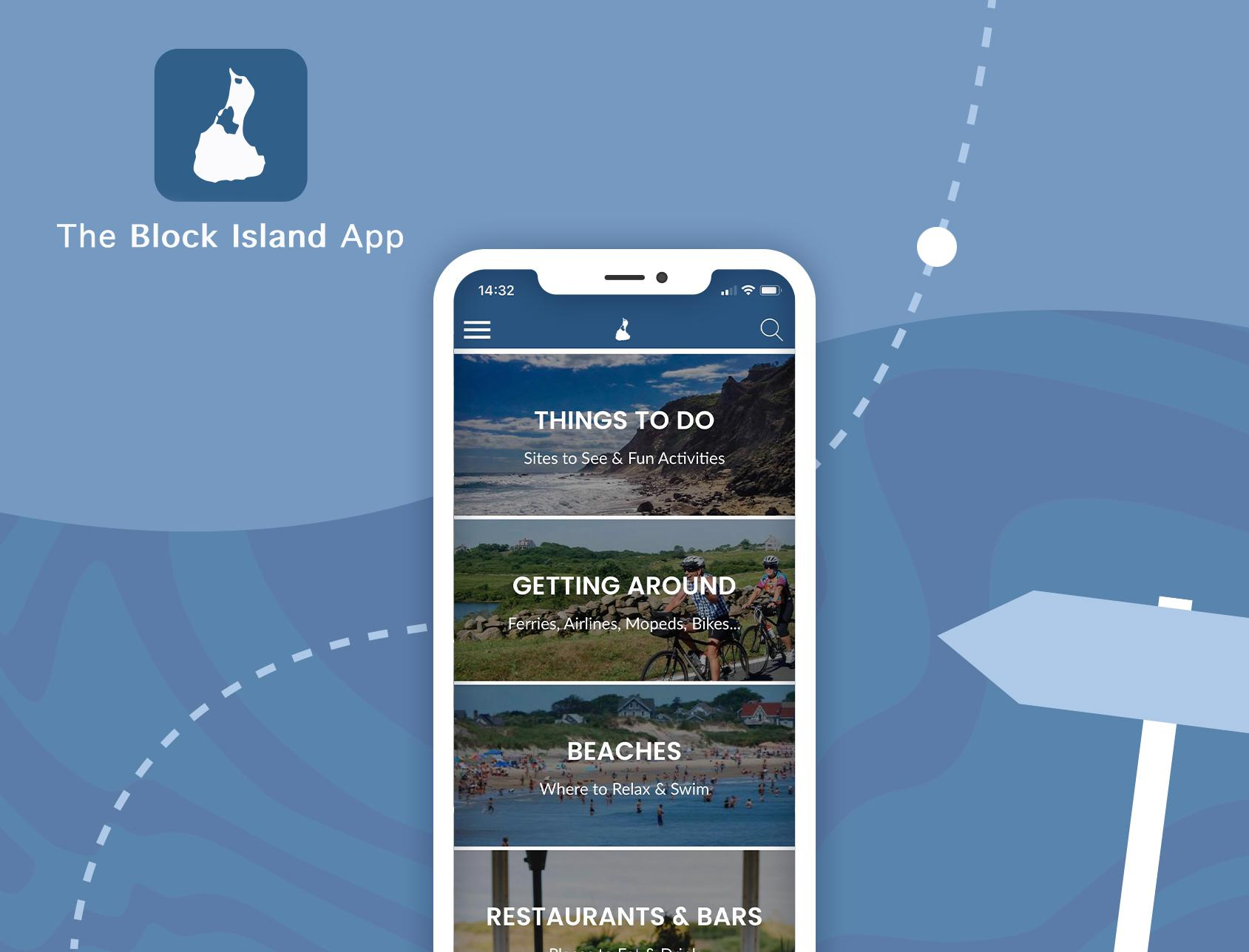 Block Island: a complete tourist guide, in an app.