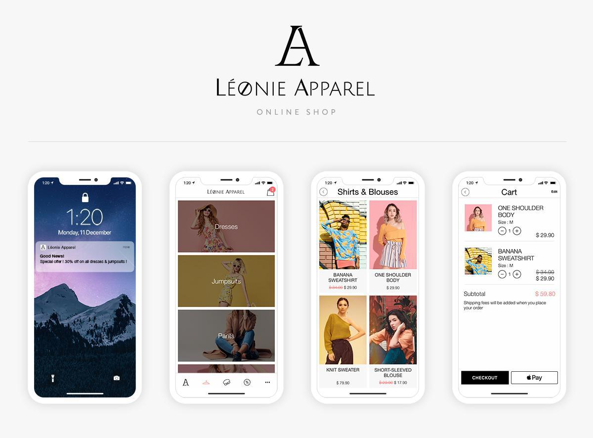 GoodBarber Shopping App has arrived!