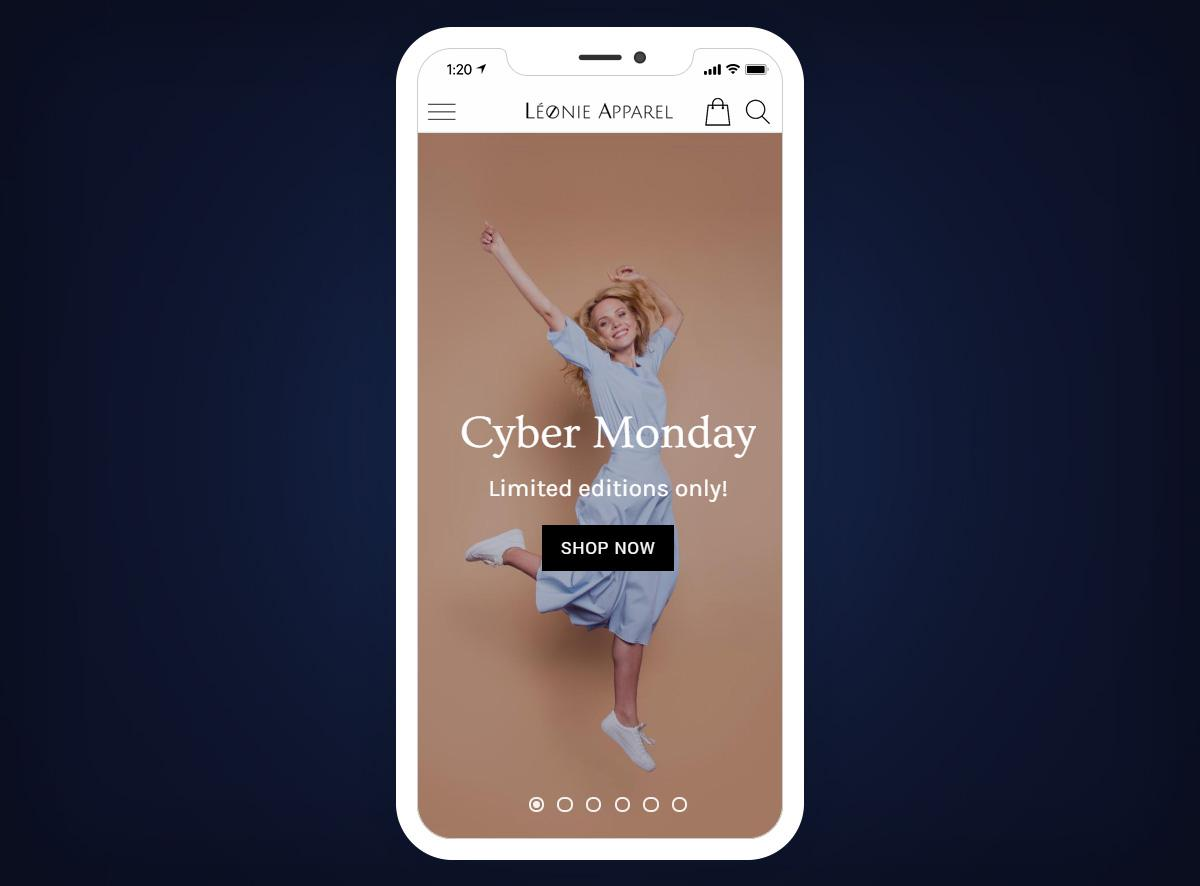 Cyber Monday - How to stand out with your Shopping App