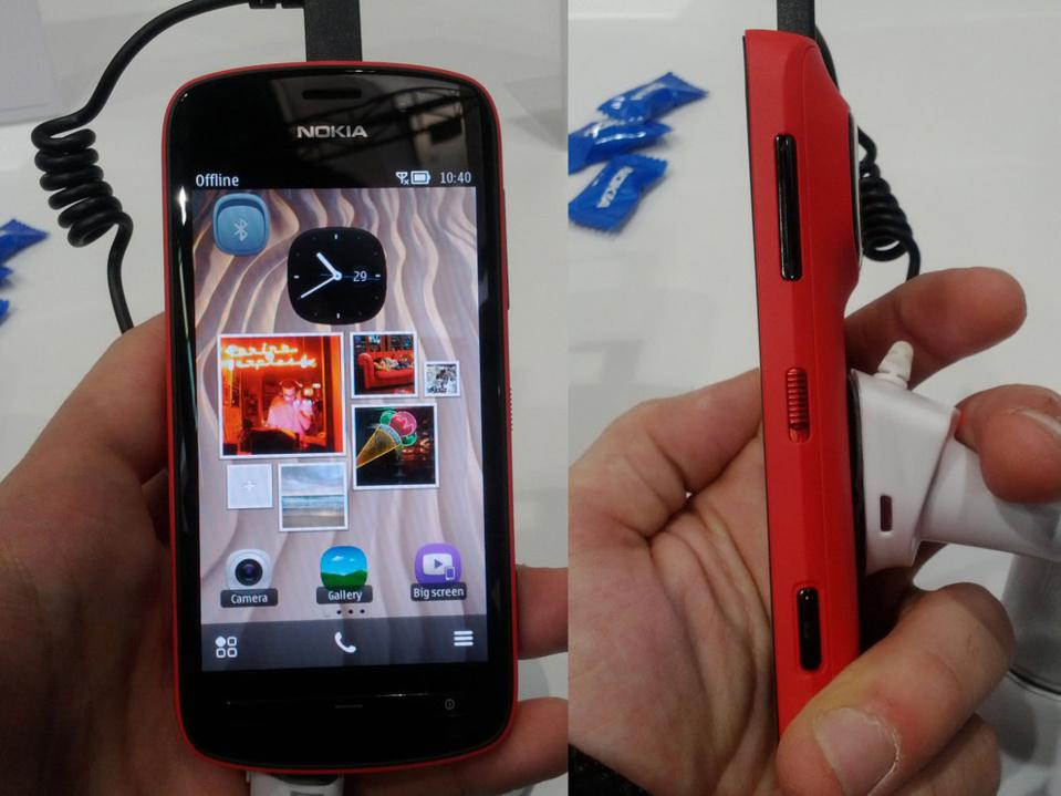 The Nokia 808 PureView with a 41 Megapixel camera