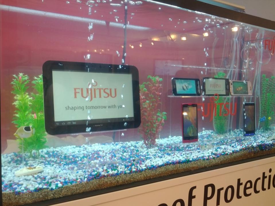 Fujitsu aquarium