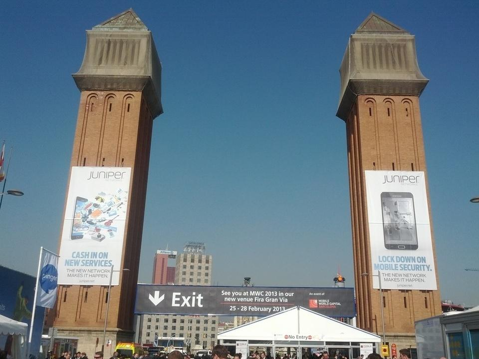 The exit of the MWC