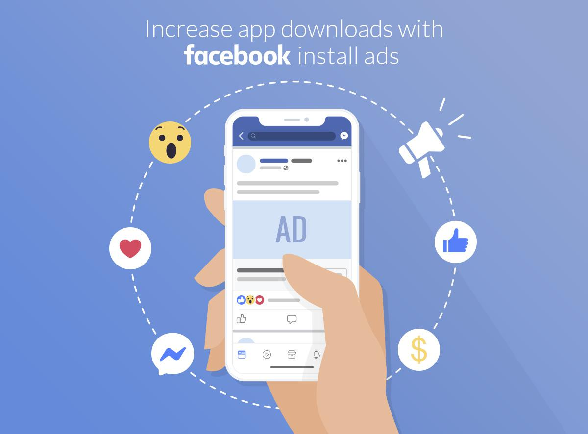 Increase your downloads with Facebook Install Ads