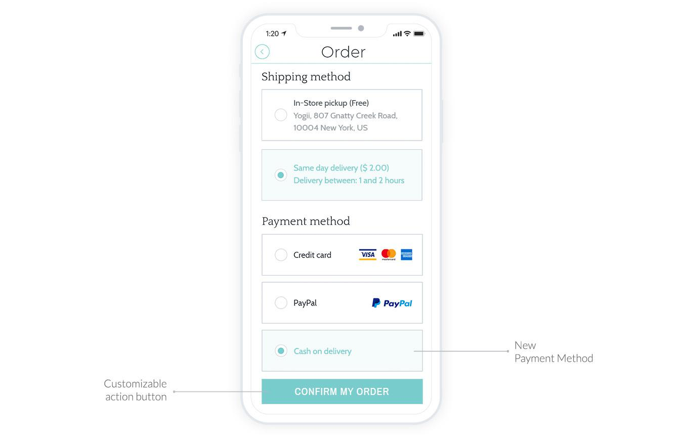 A new payment gateway for your Shopping App: Offline payment