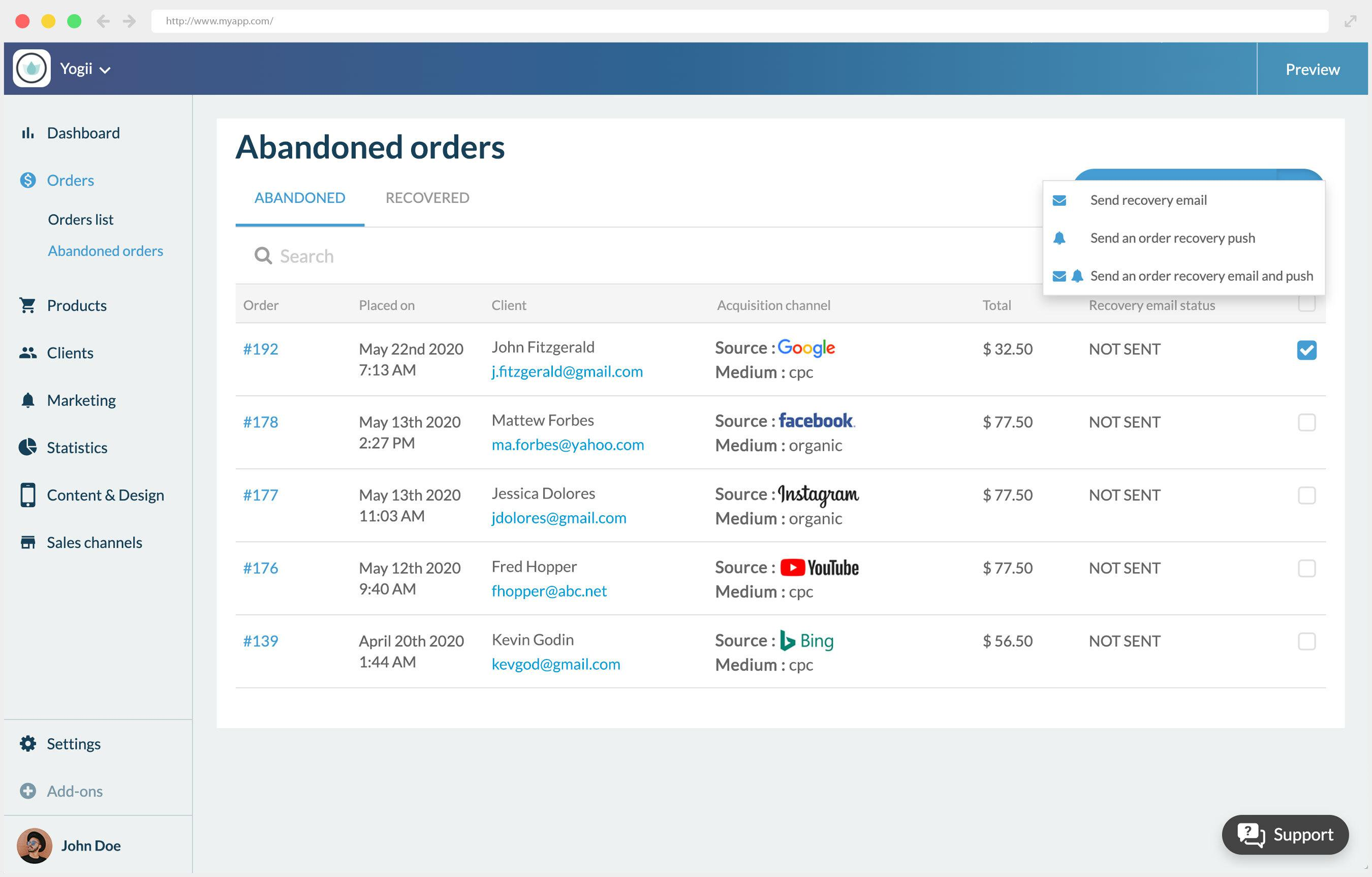 Reduce order abandonment with our new add-on
