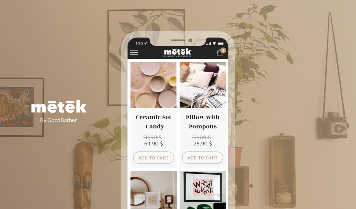 Create an app for retail