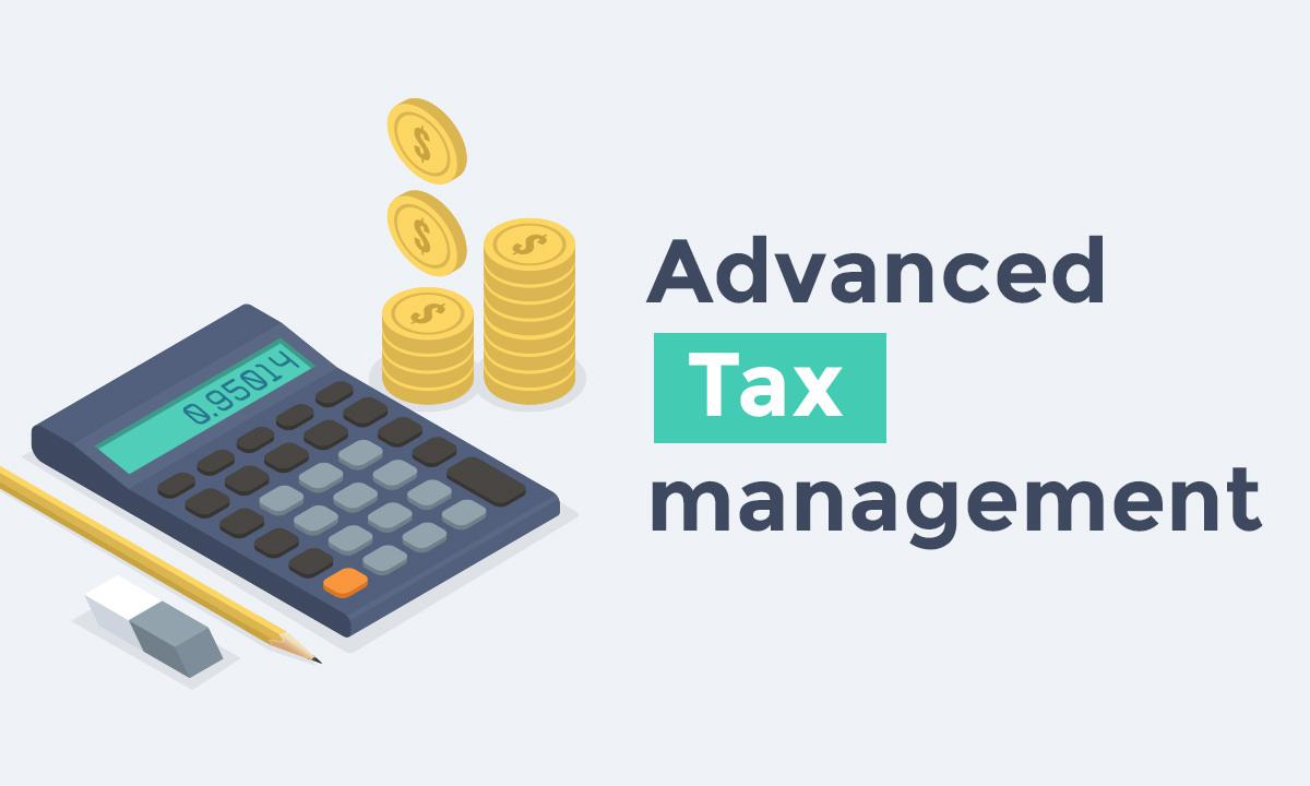 Shopping App: updated advanced Tax Management settings