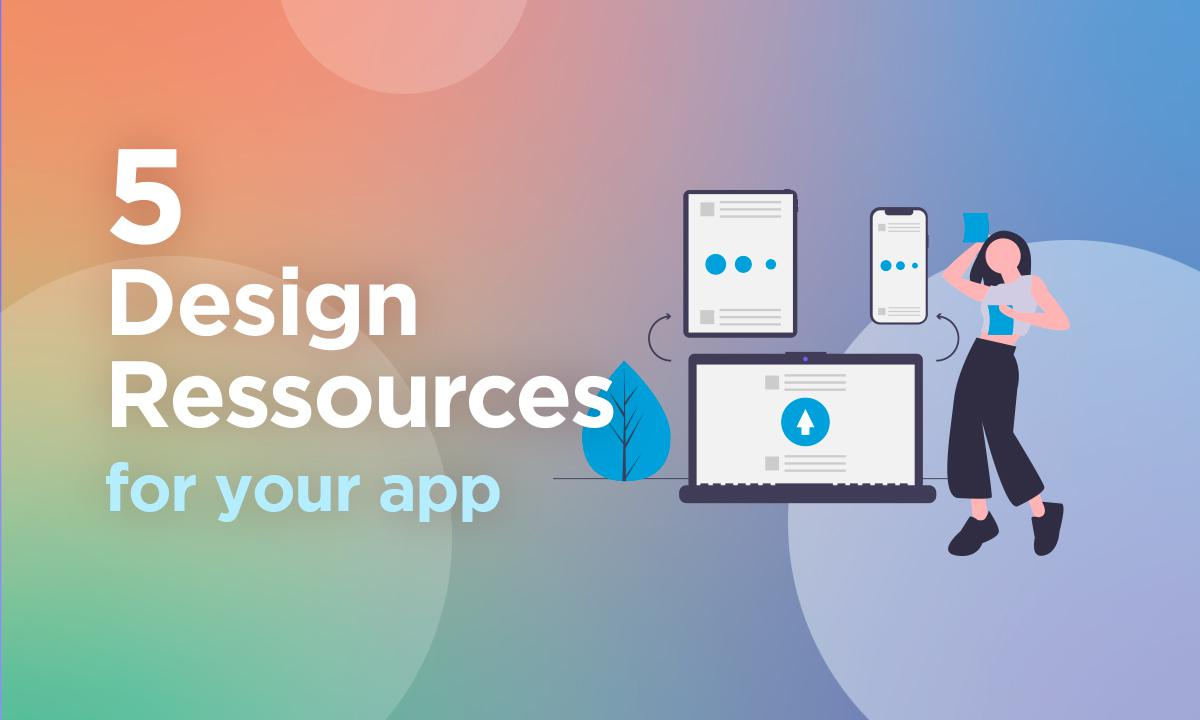 Our 5 favorite free design resources for your mobile app