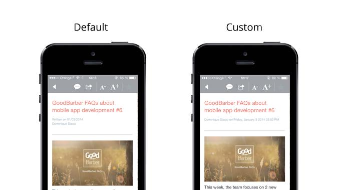 Enter the playground! Discover how to use the Settings API to customize your app :)