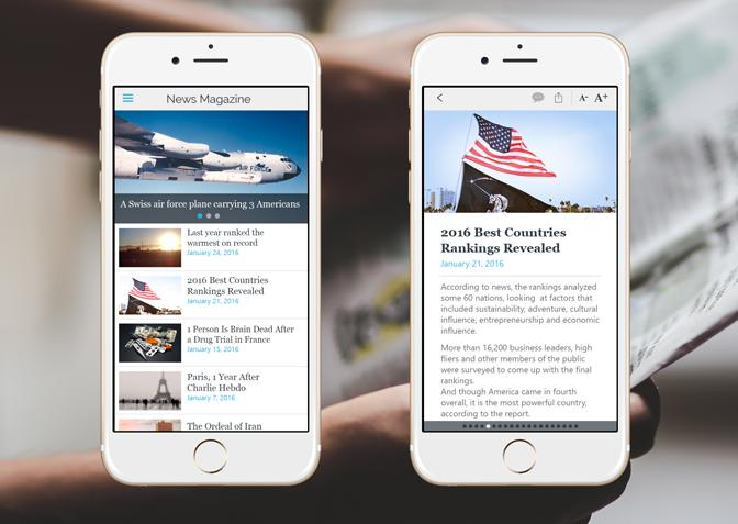How to create a good app for a news website? | GoodBarber
