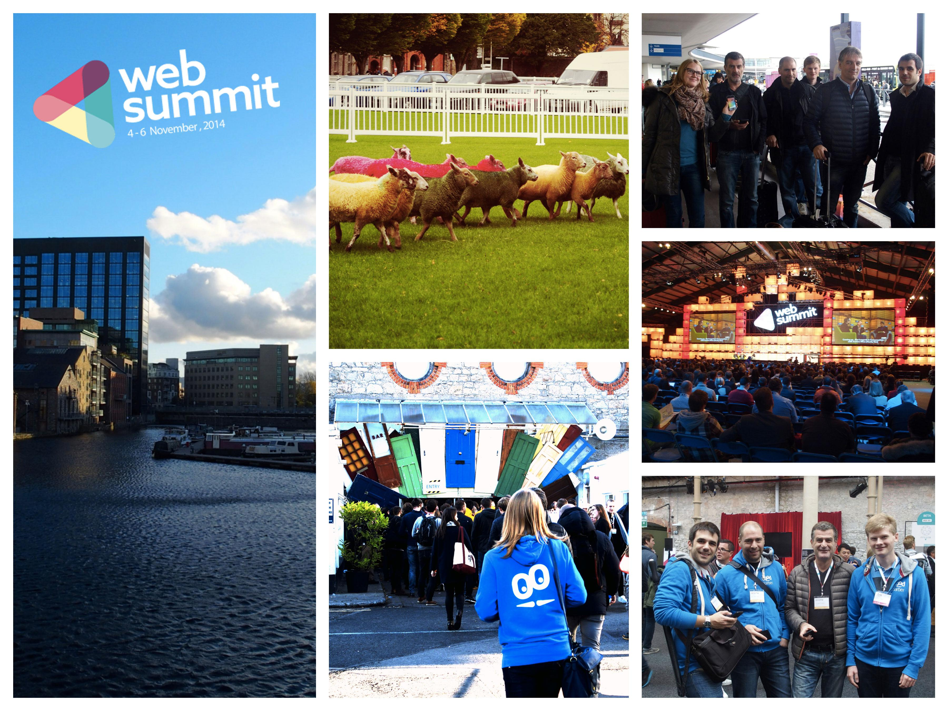 What happened during the 2014 Web Summit?
