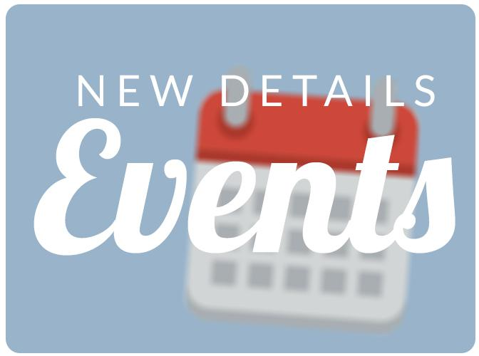 Promote your events with our new Events Templates