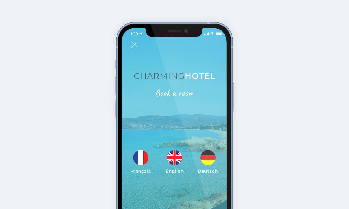 Example multi-language app