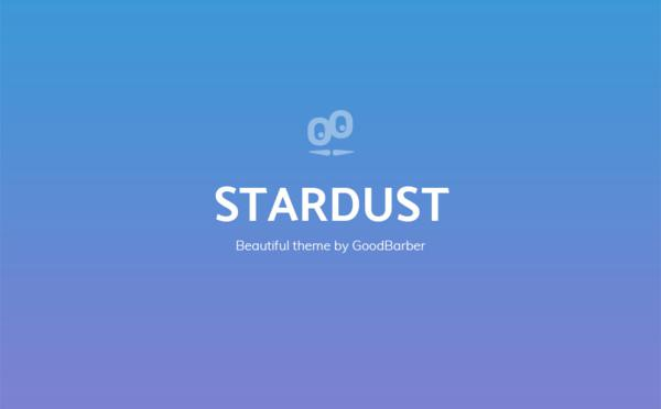 New GoodBarber 4.0 Themes : Stardust