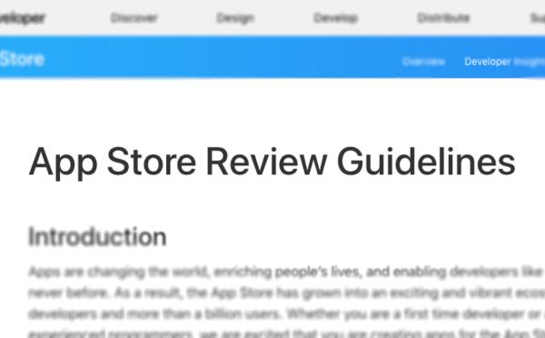 App Store 4.2.6 rule and app builders