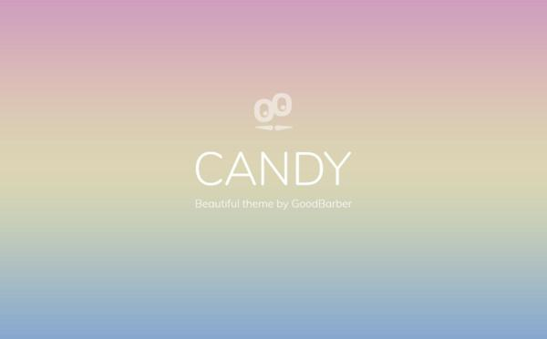 New GoodBarber 4.0 Themes: Candy