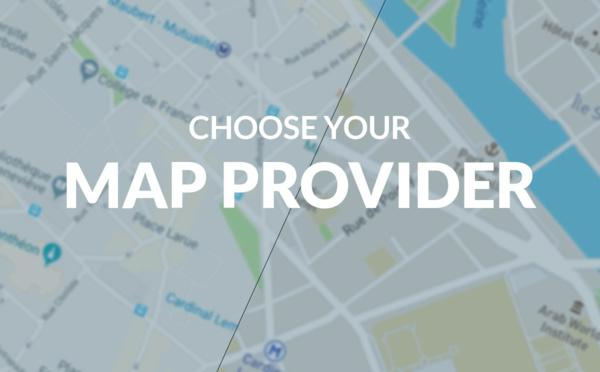 Maps management on PWAs: choose your provider