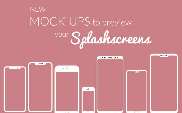 New mockups to preview your Splash screens