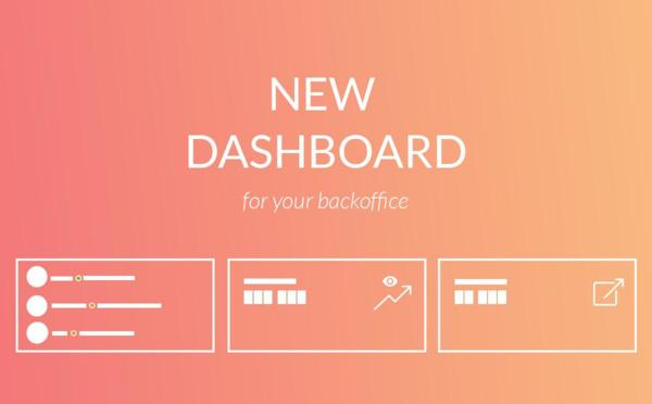 New dashboard for your back office