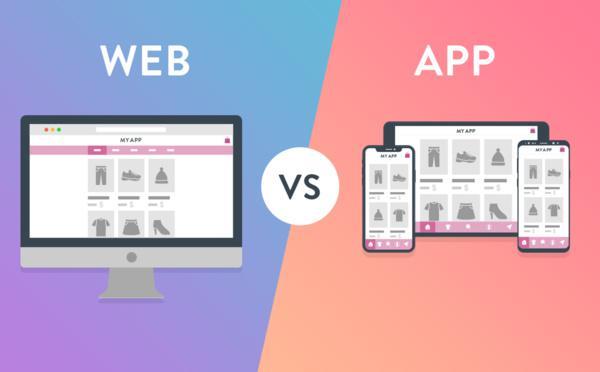 Shopping website or Shopping app?