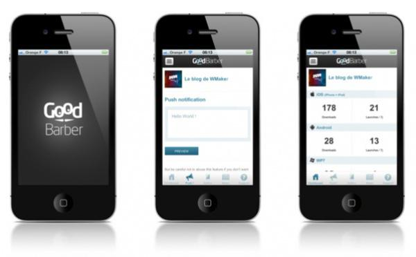 The GoodBarber App To Manage Your Account