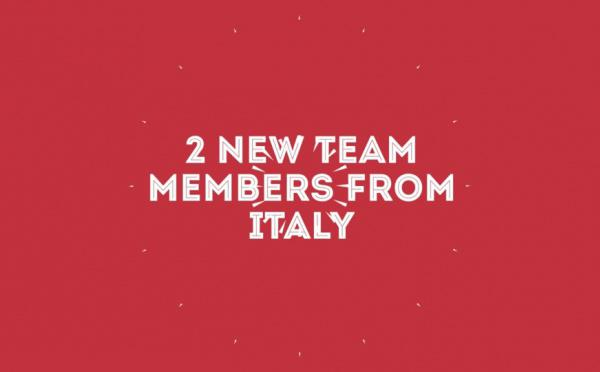 Our Italian team is here!