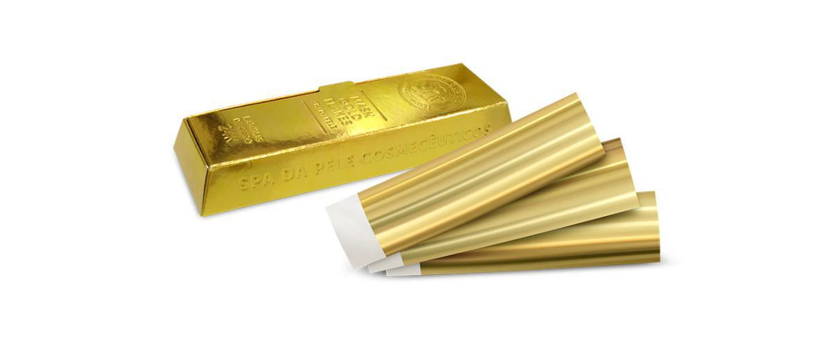 Kit Limpeza de Pele com Ouro - CLEAN SKIN SISTEMA GOLD FLAKES - Cód. 712