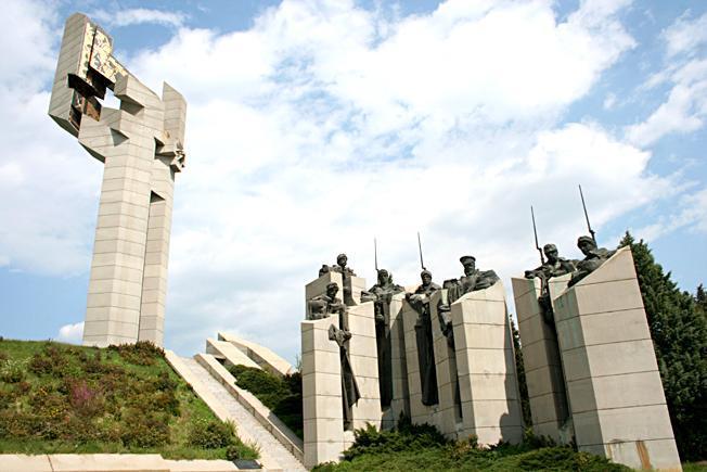 """Мемориален комплекс """"Бранителите на Стара Загора""""(Самарско знаме)"""