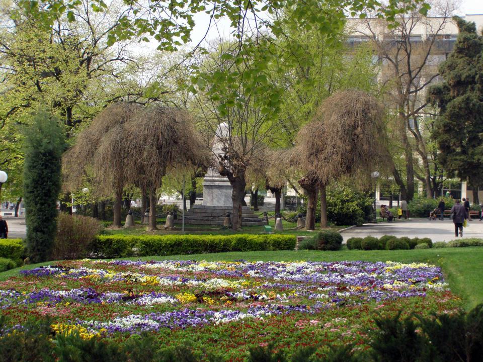 """Парк """"5-ти октомври"""" (Градска градина)"""