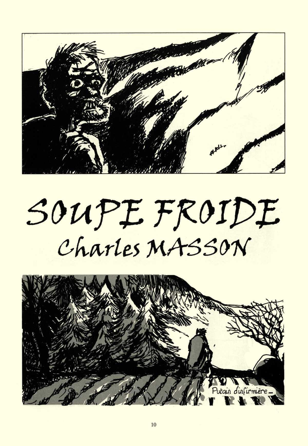 La soupe froide: une BD à lire