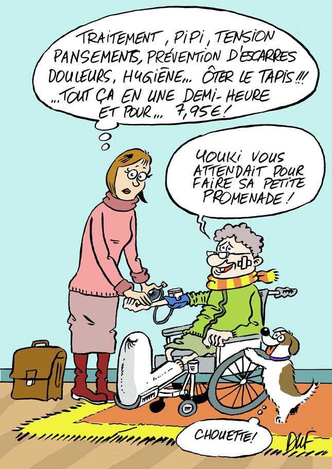 Dépendance et maintien à domicile des patients : quelle prise en charge par les infirmières libérales ?