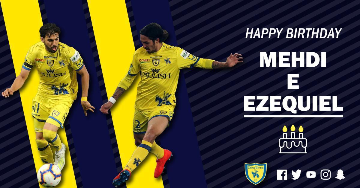 Buon compleanno Mehdi e Ezequiel