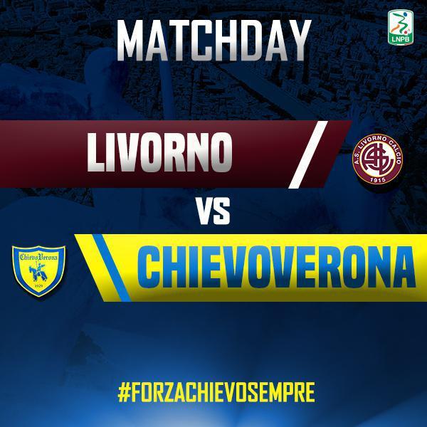 Segui con noi la diretta di #LivornoChievo