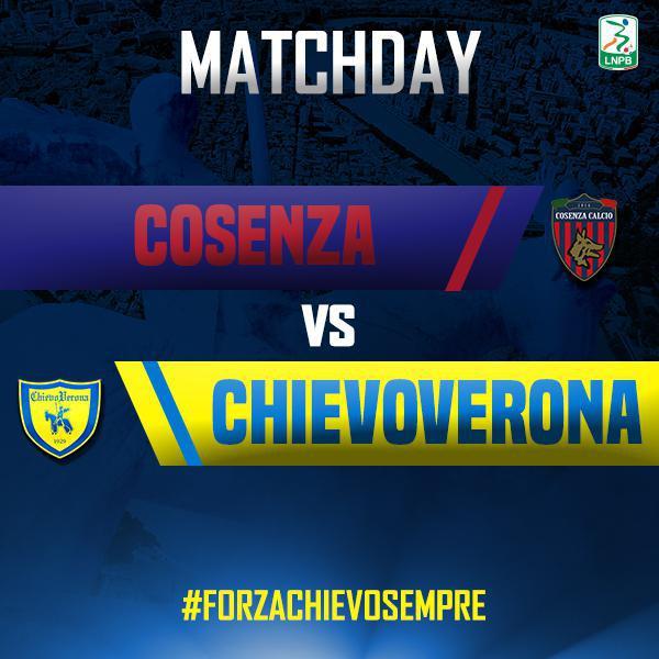 Segui la diretta di #CosenzaChievo