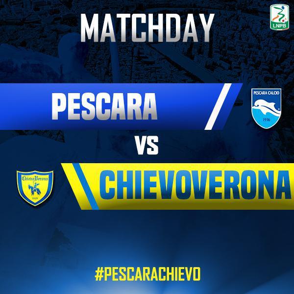 Segui con noi la diretta di #PescaraChievo