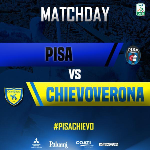 Segui la diretta di #PisaChievo