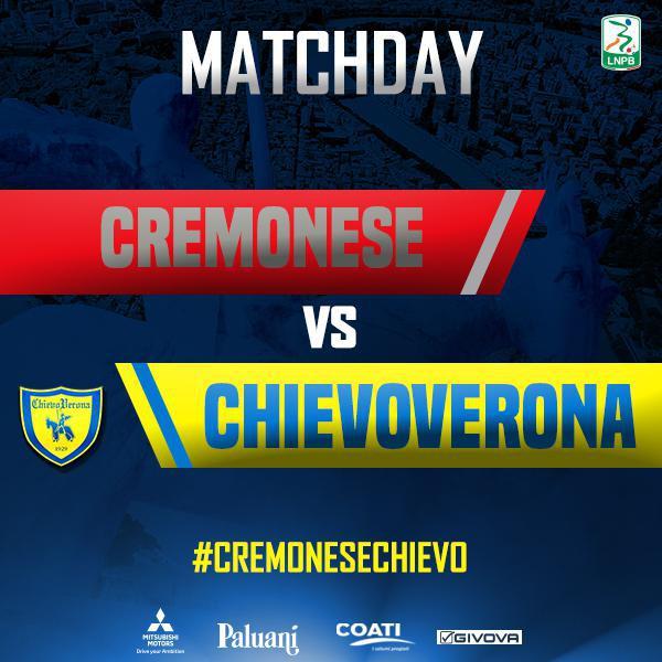 Segui la diretta di #CremoneseChievo