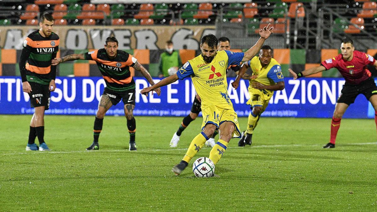 Playoff #VeneziaChievo 3-2: il tabellino del match