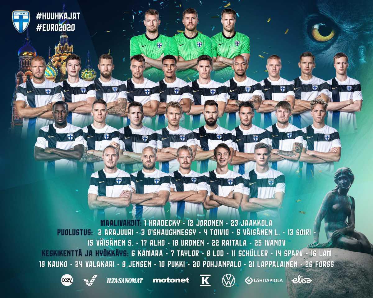 Sauli Vaisanen a Euro 2020!