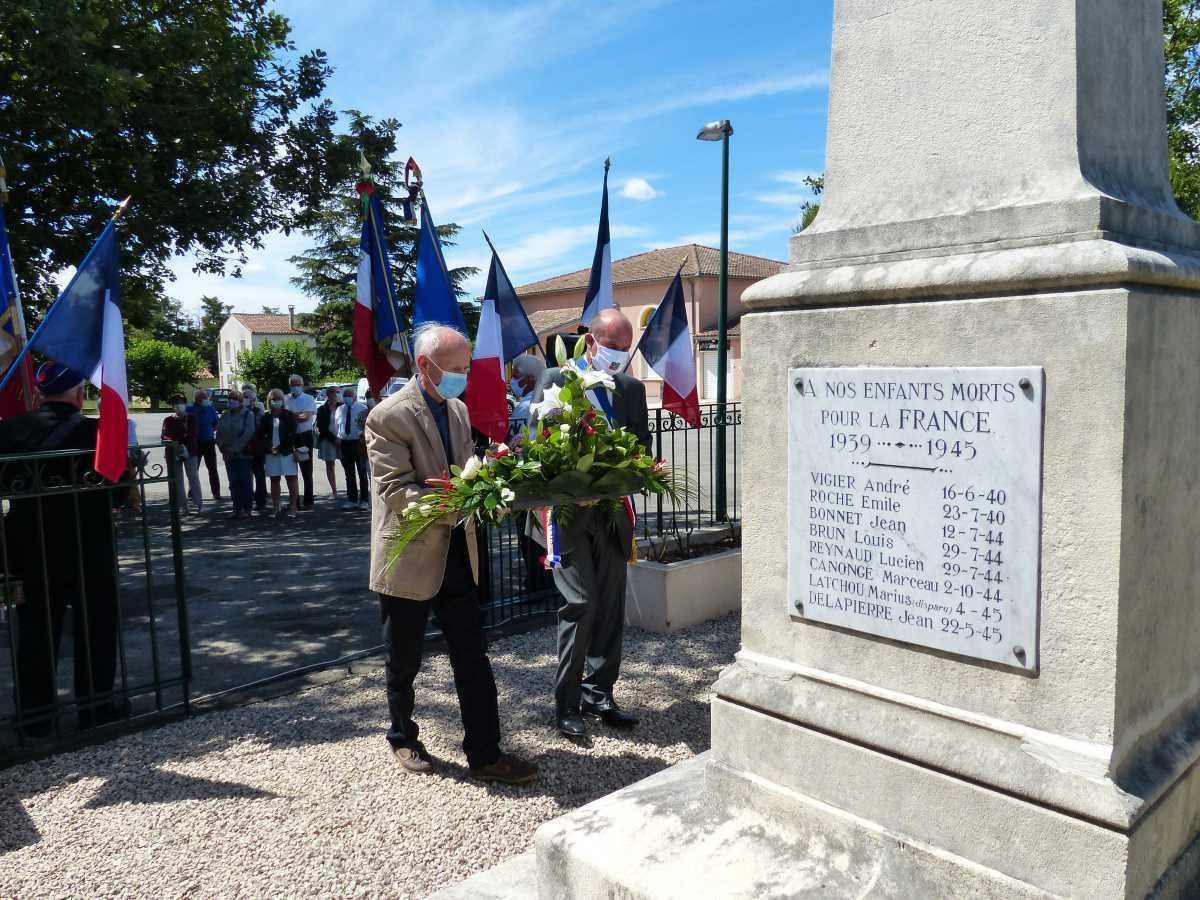 Cérémonie commémorative de l'appel historique du Général de Gaulle du 18 juin 1940