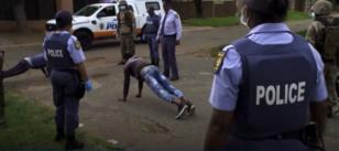 La police sud-africaine durement touchée par le COVID-19