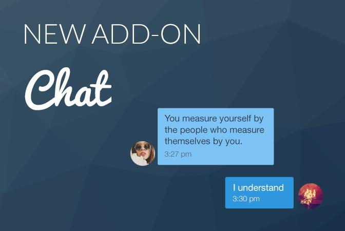Uygulamanızı sosyalleştirin: Chat eklentisi