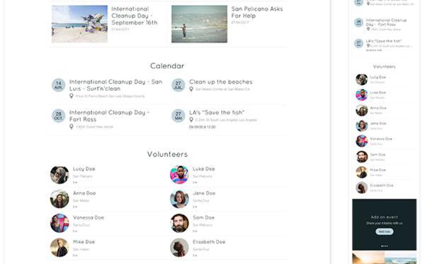 Modüler ana sayfa